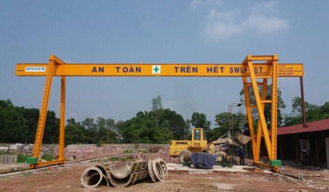 cổng trục dầm đơn 10 tấn